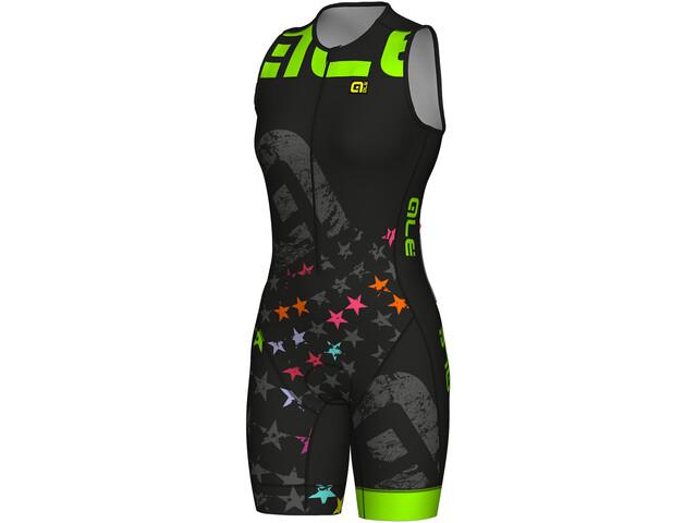 Alé Cycling Long Triathlon Stelle Kobiety zielony/czarny